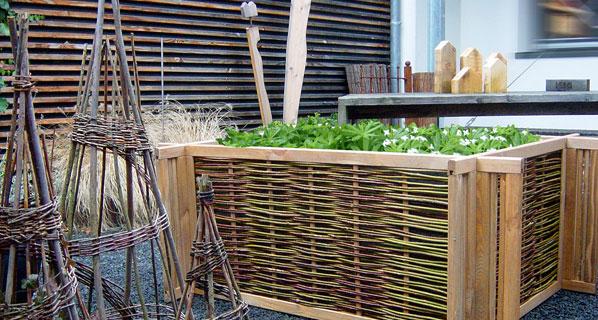 ernteparadies hochbeet aus weide die zaunfabrik natur wir die zaunfabrik natur bieten ideen. Black Bedroom Furniture Sets. Home Design Ideas