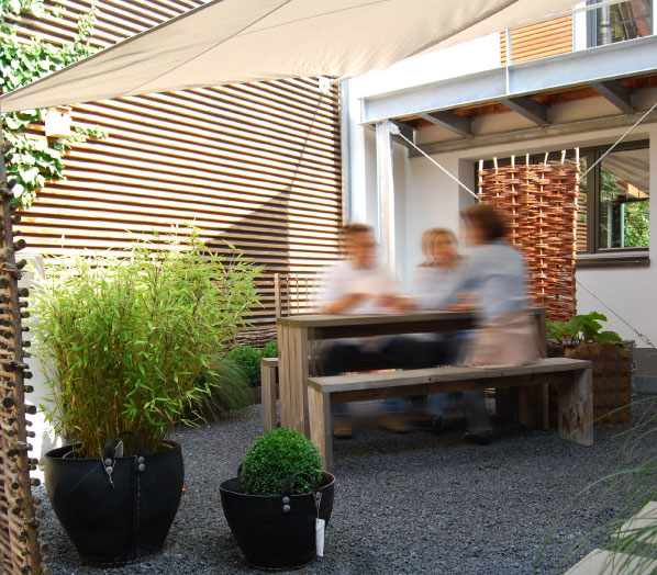 Service f r ihren naturzaun holzzaun und sichtschutz die - Zaunfabrik natur de ...