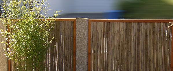 sichtschutz bzw sichtschutzelemente aus bambus finden sie. Black Bedroom Furniture Sets. Home Design Ideas