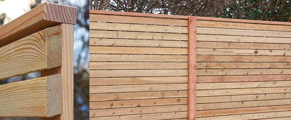 Sichtschutz Bzw Sichtschutzelemente Aus Larchenholz Finden Sie Bei